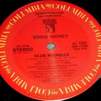 """Eddie Money - Club Michelle (12"""", Promo)"""