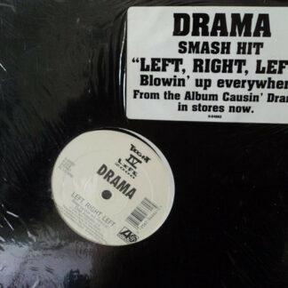 """Drama (3) - Left, Right, Left (12"""")"""