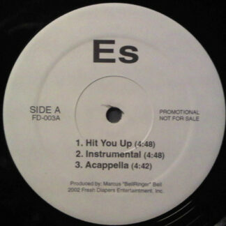 """ES* - Hit You Up / Married (12"""", Promo)"""