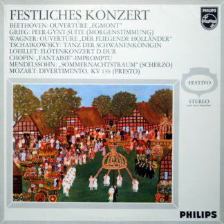 Beethoven*, Grieg*, Wagner*, Tschaikowsky*, Loeillet*, Chopin*, Mendelssohn*, Mozart* - Festliches Konzert (LP, Comp)