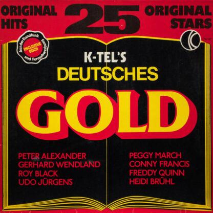 Various - K-Tel's Deutsches Gold (LP, Comp)