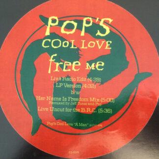 "Pop's Cool Love - Free Me (12"", Promo)"