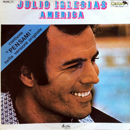 Julio Iglesias - America (LP, Album, RE)