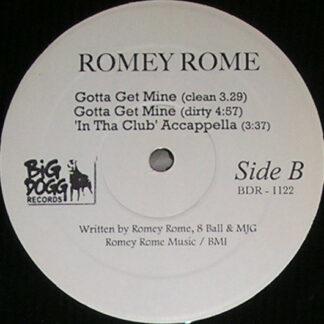"""Romey Rome - In Tha Club (12"""")"""