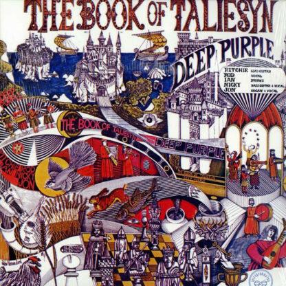 Deep Purple - The Book Of Taliesyn (LP, Album, RE)