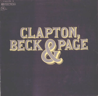Clapton*, Beck* & Page* - Clapton, Beck & Page (LP, Comp)