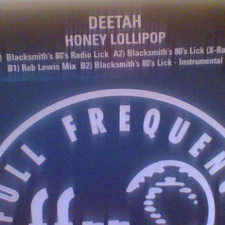 """Deetah - Honey Lollipop (12"""", Promo)"""