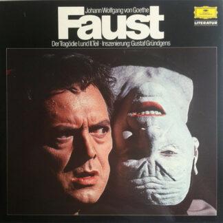 Johann Wolfgang von Goethe Inszenierung: Gustaf Gründgens - Faust - Der Tragödie I. Und II. Teil (6xLP + Box)