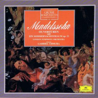 Mendelssohn*, London Symphony Orchestra*, Gabriel Chmura - Ouvertüren Mit Ein Sommernachtstraum Op. 21 (LP)