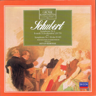 Schubert*, Wiener Philharmoniker, Istvan Kertesz* - Symphonie Nr. 8 H-moll ('Unvollendete') D 759 Und Symphonie Nr. 5 B-dur D485 (LP)