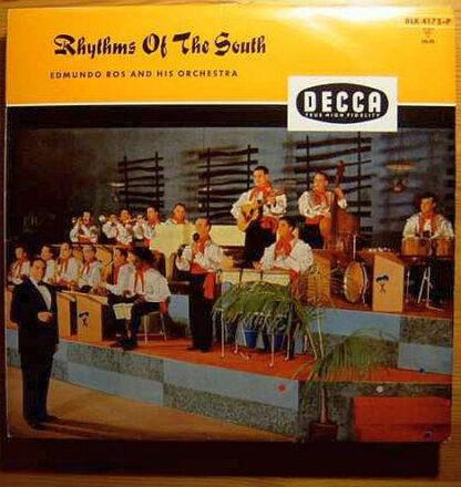 Edmundo Ros And His Orchestra* - Rhythms Of The South (LP, Album)