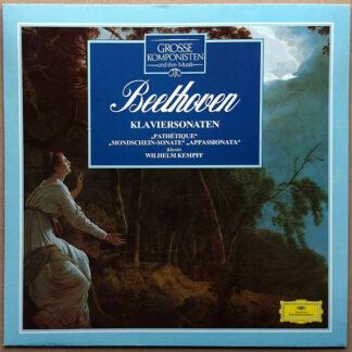 Beethoven*, Wilhelm Kempff - Klaviersonaten (LP, RE)