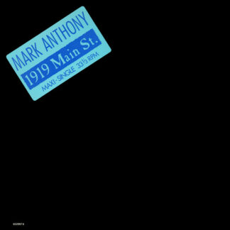 "Mark Anthony - 1919 Main Street (12"", Maxi)"