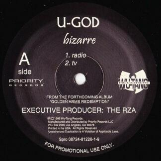 """U-God - Bizarre (12"""", Promo)"""