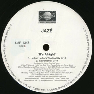 Jazé - It's Alright (12