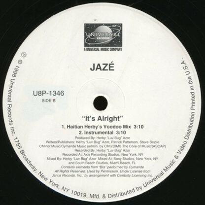 "Jazé - It's Alright (12"")"