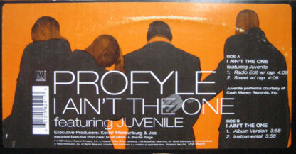 """Profyle - I Ain't The One (12"""")"""
