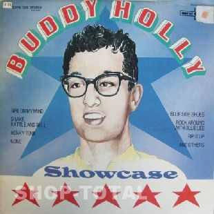 Buddy Holly - Showcase (LP, RE)