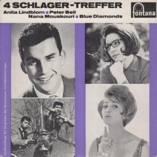 """Various - 4 Schlager-Treffer (7"""", EP)"""