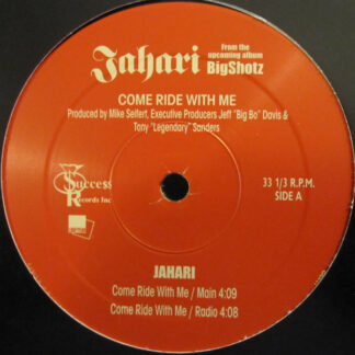 "Jahari - Come Ride With Me (12"")"