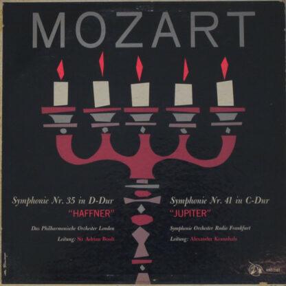 "Mozart* - Symphonie Nr. 35 In D-Dur ""Haffner"" / Symphonie Nr. 41 In C-Dur ""Jupiter"" (LP)"
