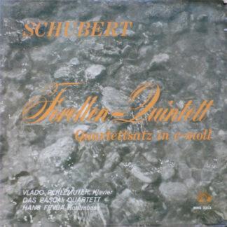 Schubert* - Forellen-Quintett, Quartettsatz In C-moll (LP, Mono)