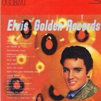 Elvis Presley - Elvis' Golden Records (LP, Comp)