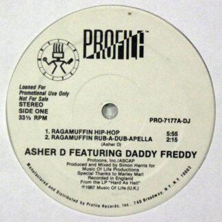 """Asher D & Daddy Freddy - Ragamuffin Hip-Hop (12"""", Promo)"""