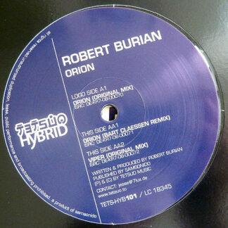 """Robert Burian - Orion (12"""")"""