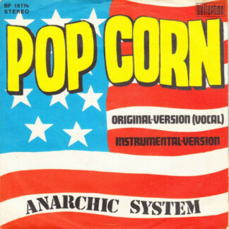 "Anarchic System - Pop Corn (7"", Single)"
