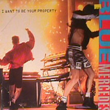 "Blue Mercedes - I Want To Be Your Property (12"", Single)"