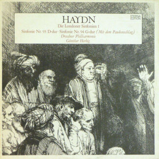 Haydn*, Dresdner Philharmonie, Günther Herbig - Die Londoner Sinfonien I (LP)