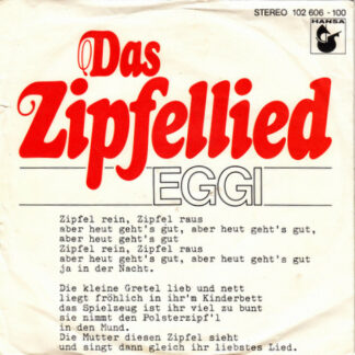"Eggi Bierling - Das Zipfellied (7"", Single)"