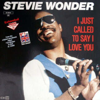 "Stevie Wonder - I Just Called To Say I Love You (12"", Maxi, Ext)"