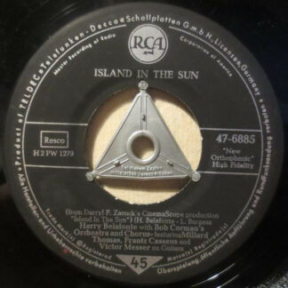 "Harry Belafonte - Island In The Sun (7"", Single)"
