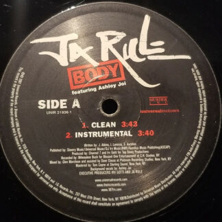 "Ja Rule Featuring Ashley Joi - Body (12"", Single, Promo)"