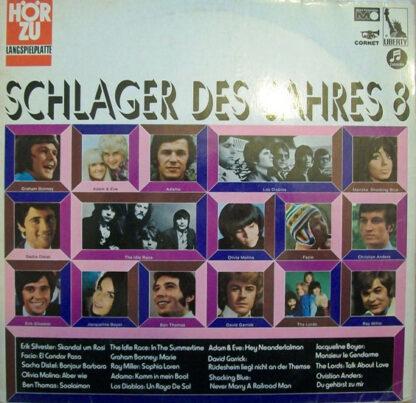 Various - Schlager Des Jahres 8 (LP, Comp)