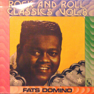 Fats Domino - Rock And Roll Classics Vol. 8 (LP, Comp, RE, RP)