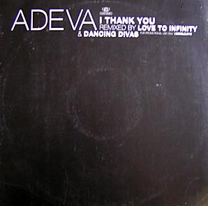 """Adeva - I Thank You (12"""", Promo)"""