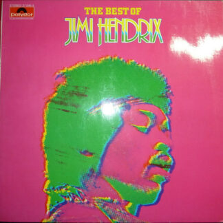 Jimi Hendrix - The Best Of Jimi Hendrix (LP, Comp, Clu)