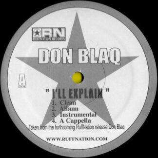 """Don Blaq - I'll Explain / G Respect (12"""")"""