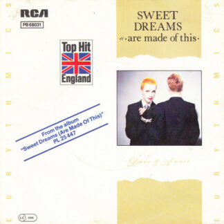 """Eurythmics - Sweet Dreams (Are Made Of This) (7"""", Single)"""