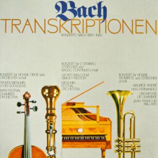Bach* - Transkriptionen - Konzerte Nach BWV 1060 (LP, Comp)