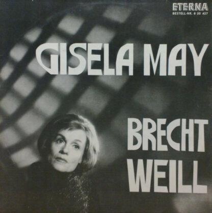 Gisela May - Brecht Weill (LP, Album, Mono)