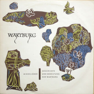 """Various - Wartburg,  Minnelieder / Geschichte Und Bedeutung Der Wartburg (10"""", Mono)"""