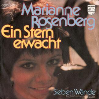 """Marianne Rosenberg - Ein Stern Erwacht (7"""", Single)"""
