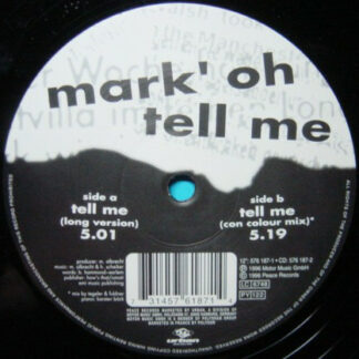 """Mark 'Oh - Tell Me (12"""")"""