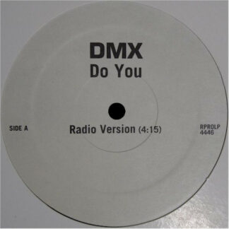"DMX - Do You (12"", Promo)"
