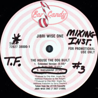 """Jibri Wise One - The House The Dog Built (12"""", Promo)"""
