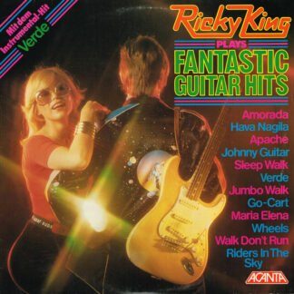Ricky King - Ricky King Plays Fantastic Guitar Hits (LP, RE)